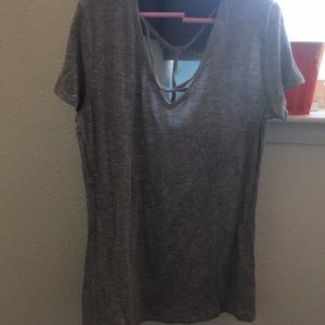 Soft Grey Top Good Condition